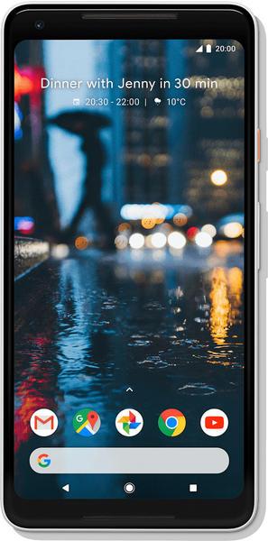 Google Pixel 2 XL 128GB schwarz&weiß