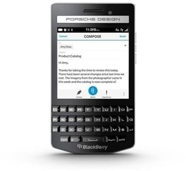 BlackBerry P9983