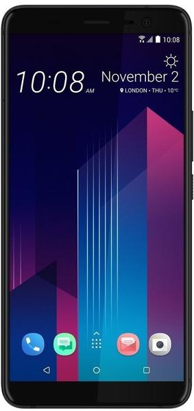 HTC U11 Plus transparent schwarz