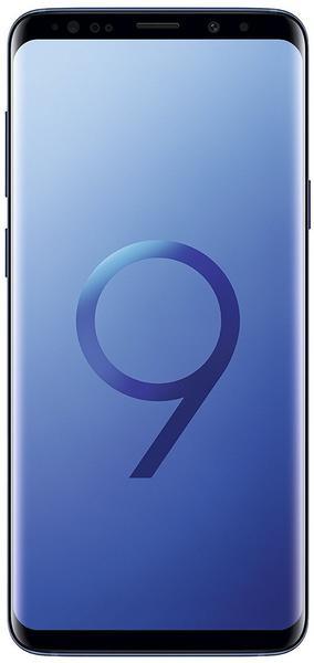 Samsung Galaxy S9+ coral blue