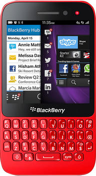 BlackBerry Q5 Schwarz