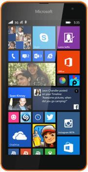Microsoft Lumia 535 grün