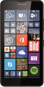Microsoft Lumia 640 schwarz