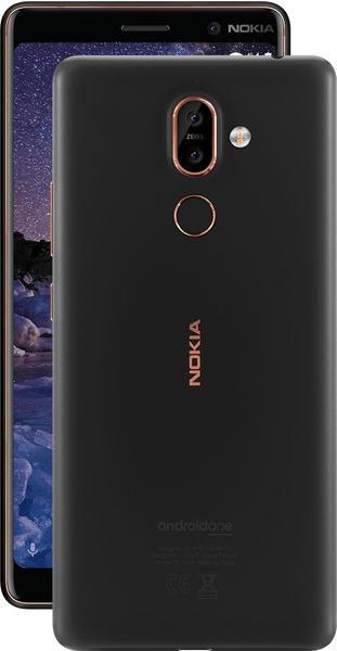 Nokia 7 Plus schwarzkupfer