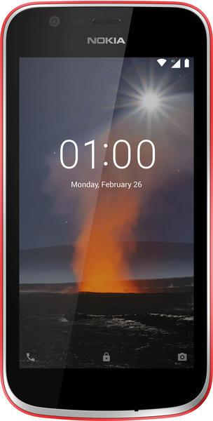 Nokia 1 warmes rot