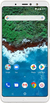 BQ Aquaris X2 Pro 64 GB weiß