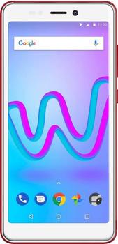 Wiko Jerry3 Smartphone (13,8 cm/5,45 Zoll) 16 GB Speicherplatz, 5 MP Kamera) rot