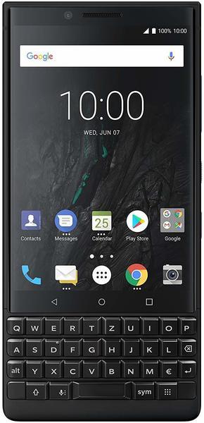 BlackBerry KEY2 black Dual-SIM 6/128 GB Android 8.1 Smartphone