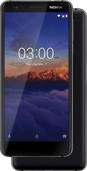 Nokia 3.1 16GB schwarz/chrom