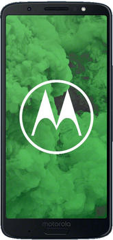 Motorola Moto G6 Plus 64GB, Handy blau, Android 8.0 Oreo