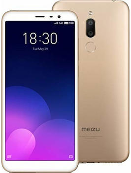 "Meizu (M6T) (5.70"", 16GB, Dual SIM 13MP, Gold"