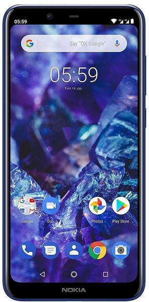 Nokia 5.1 Plus Gloss Midnight Blue