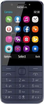 Nokia 230 Dual Sim blau