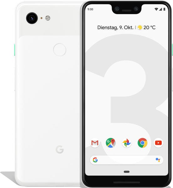 Google Pixel 3 XL 128GB weiß