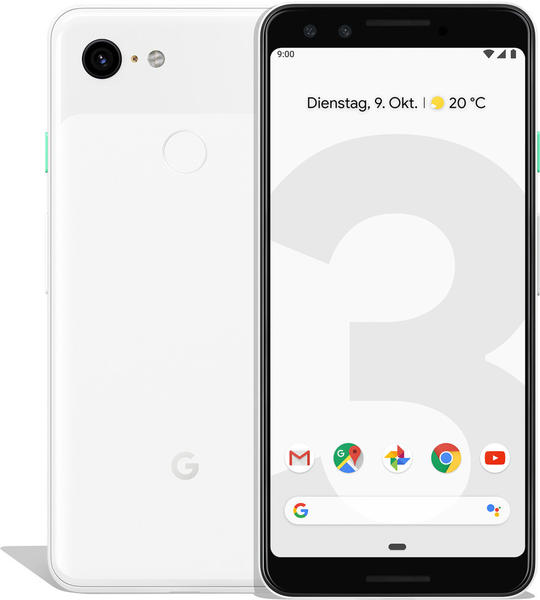 Google Pixel 3 128GB clearly white