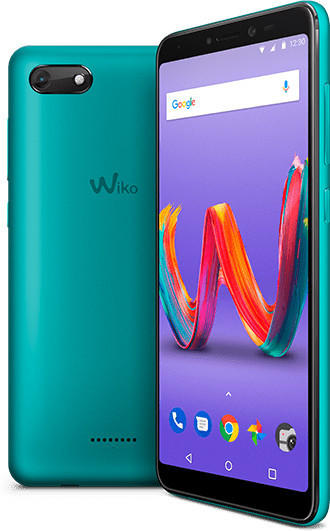 Wiko Smartphone HARRY 2 Dual-SIM (5.45 Zoll) 13 Mio. Pixel Android™ 8.1 Oreo Türkis