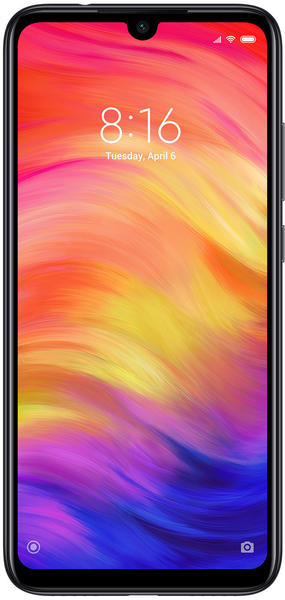 Xiaomi Redmi Note 7 64Gb, Handy, schwarz, Android 9.0 (Pie), Dual SIM