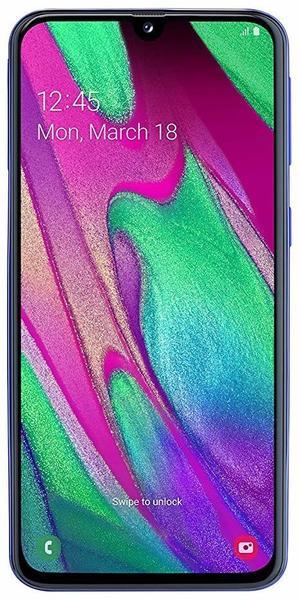 Samsung Galaxy A40 blau