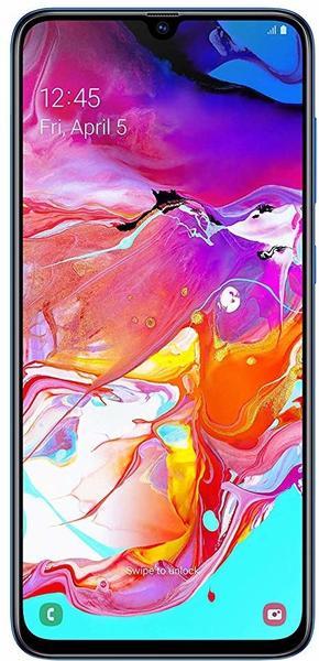 Samsung Galaxy A70 blau