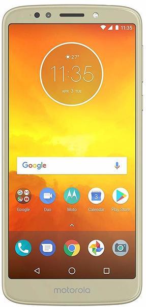 Motorola Moto E5 fine gold