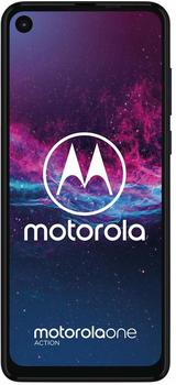 Motorola One Action Demin Blau