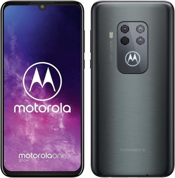 Motorola One Zoom Grau-Metallic