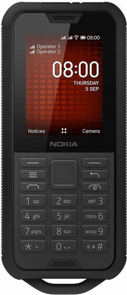 Nokia 800 Tough schwarz