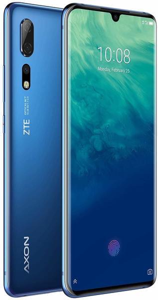 ZTE Axon 10 Pro Smartphone ohne Vertrag 128 GB Blau