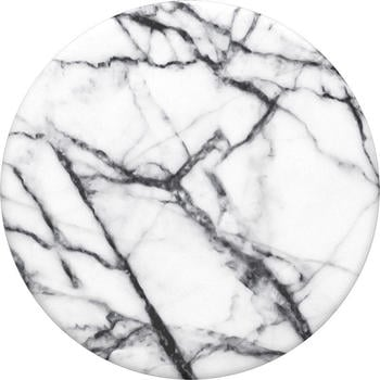 PopSockets Swappable Grip Dove White Marble