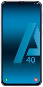 Samsung Galaxy A40 (5.9 4 GB 64 GB Dual SIM 4G Black 3100 mAh
