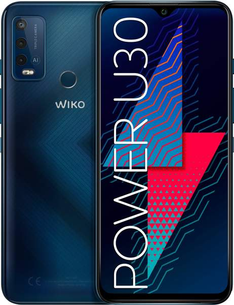 Wiko Power U30 Carbone Blue