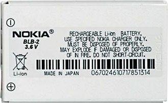 Nokia Akku 5210/6510/7650/8210 (BLB-2)
