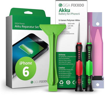 Giga Fixxoo Akku Reparaturset (iPhone 6)