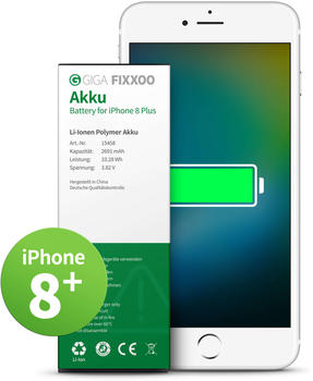 Giga Fixxoo Akku ohne Werkzeug (iPhone 8 Plus)