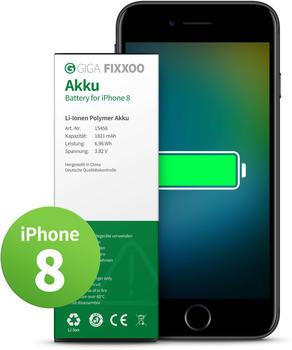Giga Fixxoo Akku ohne Werkzeug (iPhone 8)