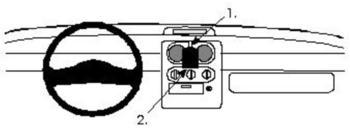 Brodit ProClip Renault Twingo Bj. 95-05