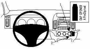 Brodit ProClip Hyundai Elantra Bj. 07-08
