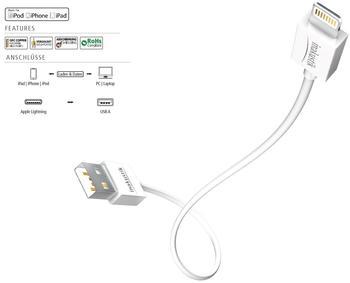 in-akustik iPlug Lightning 2m