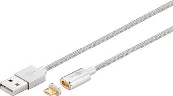 Goobay 40912 USB Magnet-Kabel 1,2m