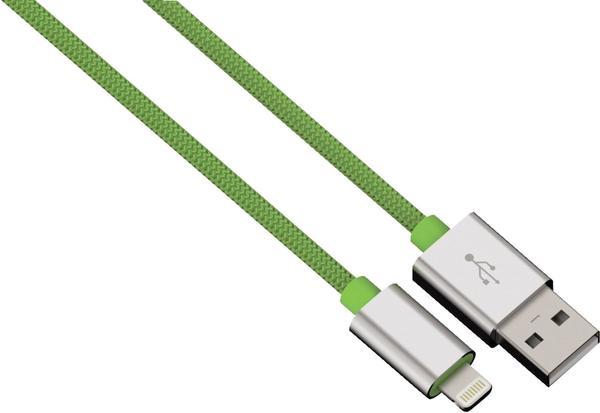 Hama Lightning Kabel Color Line 0,5m grün