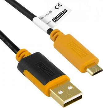 Mumbi micro USB zu USB-A Kabel (1,0m)