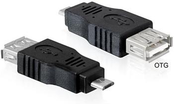 DeLock Adapter micro-USB > USB-A