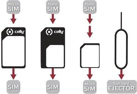 Celly Universal SIM Adapter