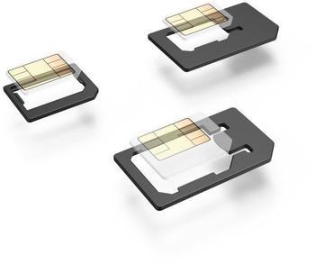 Hama SIM-Karten-Adapter, 5-teiliges Set