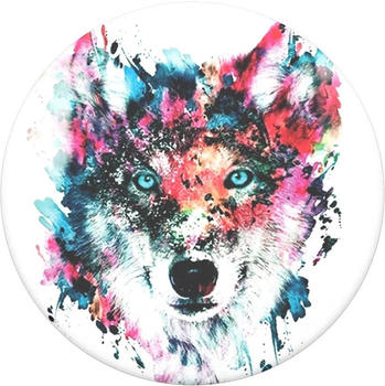 PopSockets Swappable Grip Wolf