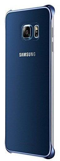 Samsung Clear Cover blau (Galaxy S6 Edge+)