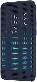 HTC Dot View Case (One A9) blau