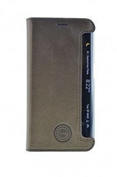 GALELI Book Case TIMO für Samsung Galaxy S6 Edge braun