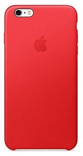 Apple Leder Case rot (iPhone 6S Plus)