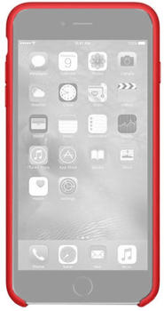 Apple Silikon Case rot (iPhone 6S Plus)
